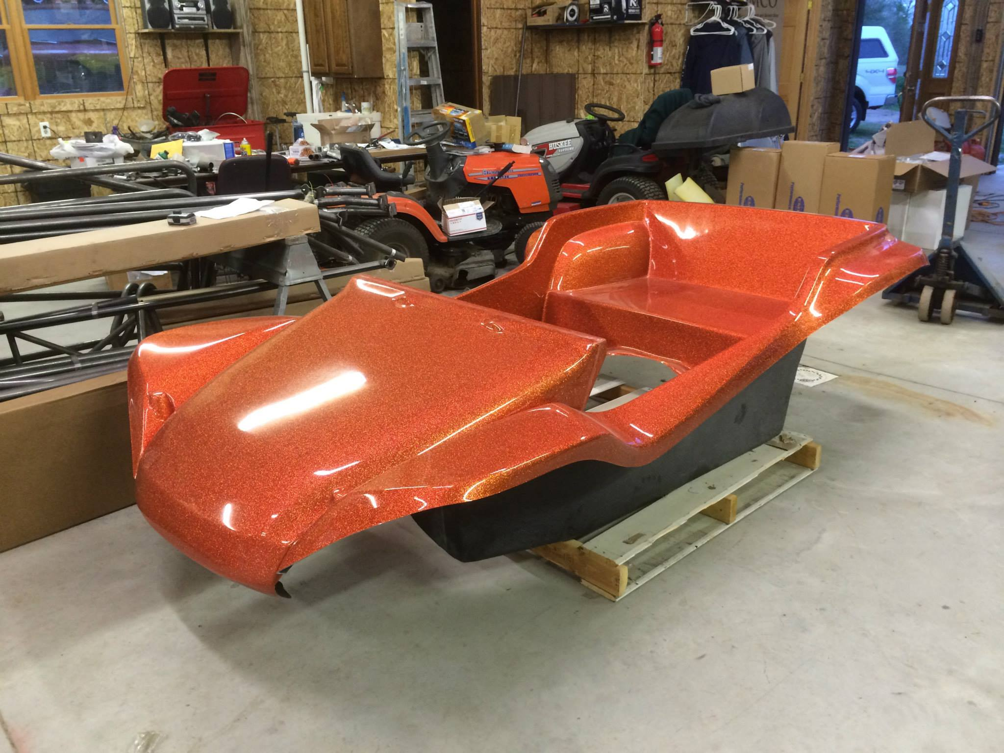 Berrien Buggy ACME Nostalgia Chassis build at Adirondack Aircooled VWs LLC